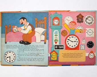 Vintage hardback book: Camberwick Green, Tell the Time, 1972