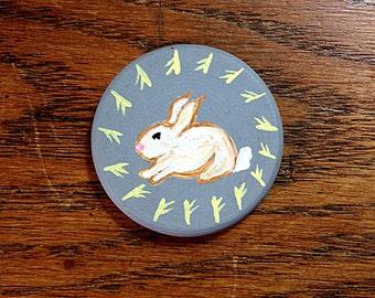 Spring Ostara Miniature Art - Pocket Charm