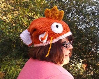 Chrochet Magikarp Hat, pokemon hat