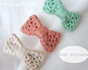 Pattern: Crochet Small Bow N.8