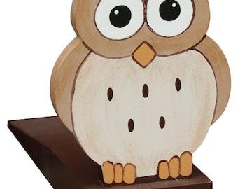 Woodland Owl Doorstop