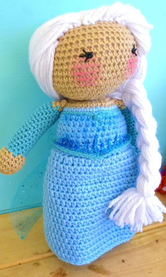 14 crochet frozen elsa inspired doll