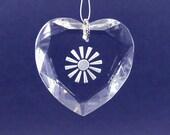 Heart and Soul, Heart Suncatcher, Crystal and Hearts, Crystal Heart, Crystal Suncatcher, Sun Catcher, Sunsation