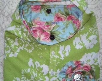 Shabby chic purses, from sweaters crossbody custom made
