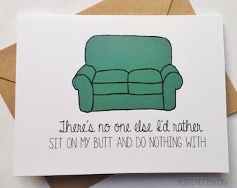 Sweet Anniversary Card - Funny Love card - Humor Love Card - Card for Husband - Boyfriend Card