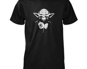 DJ Jedi Master Yoda T-Shirt inspired by Star Wars
