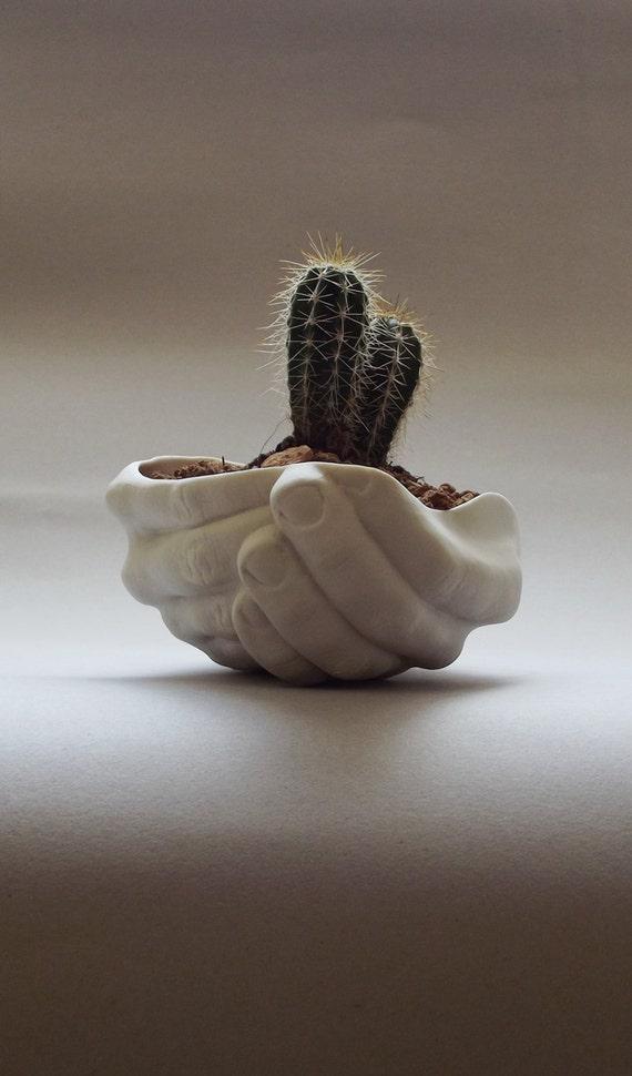 Ceramic Planter Succulent Planter Hand Dish Ceramic