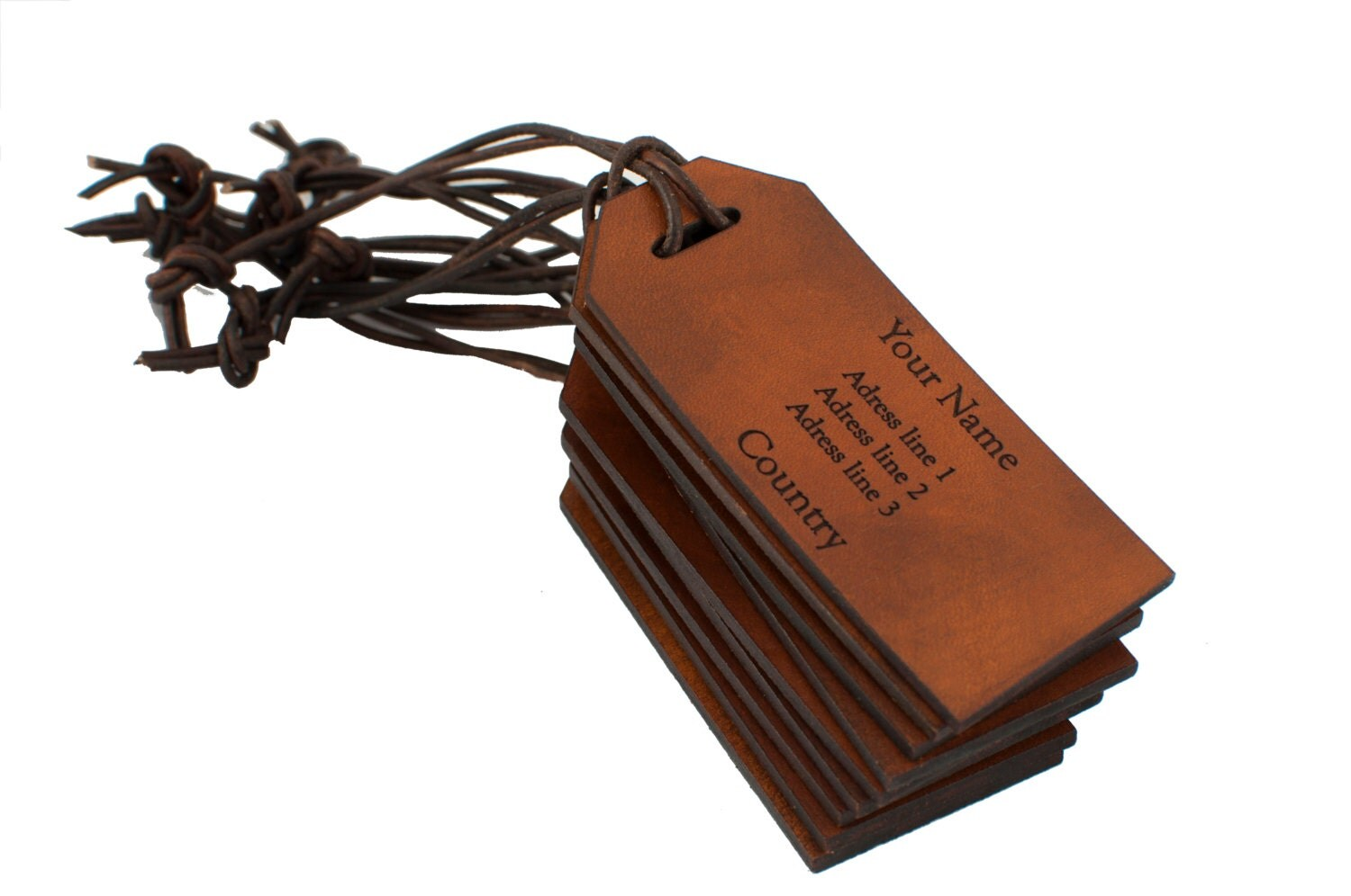 Luggage Tags: Leather Labels Bulk Leather Luggage Tags Custom Leather