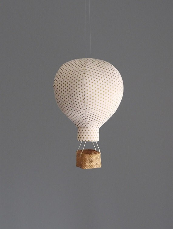 hot air balloon baby shower decoration travel nursery decor. Black Bedroom Furniture Sets. Home Design Ideas