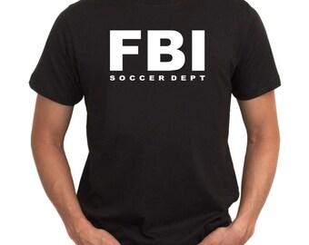 Fbi Dept Soccer T-Shirt