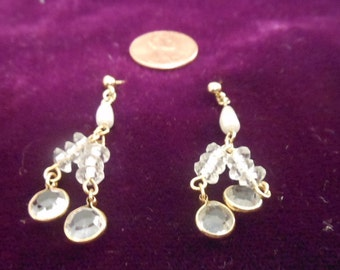 Earrings Biawa pearl with Crystals