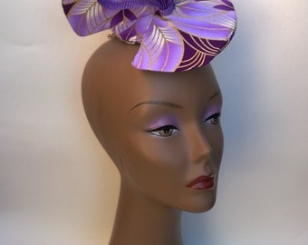 Lilac Wedding Hat Fascinator ***( Make me an offer for this item)***