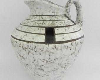 Scheurich Fat Lava West German Pottery WGP floo vase 281 30
