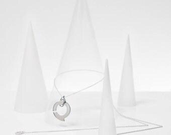 """Simple necklace + pendant """"9"""" / money """"Ennead"""""""