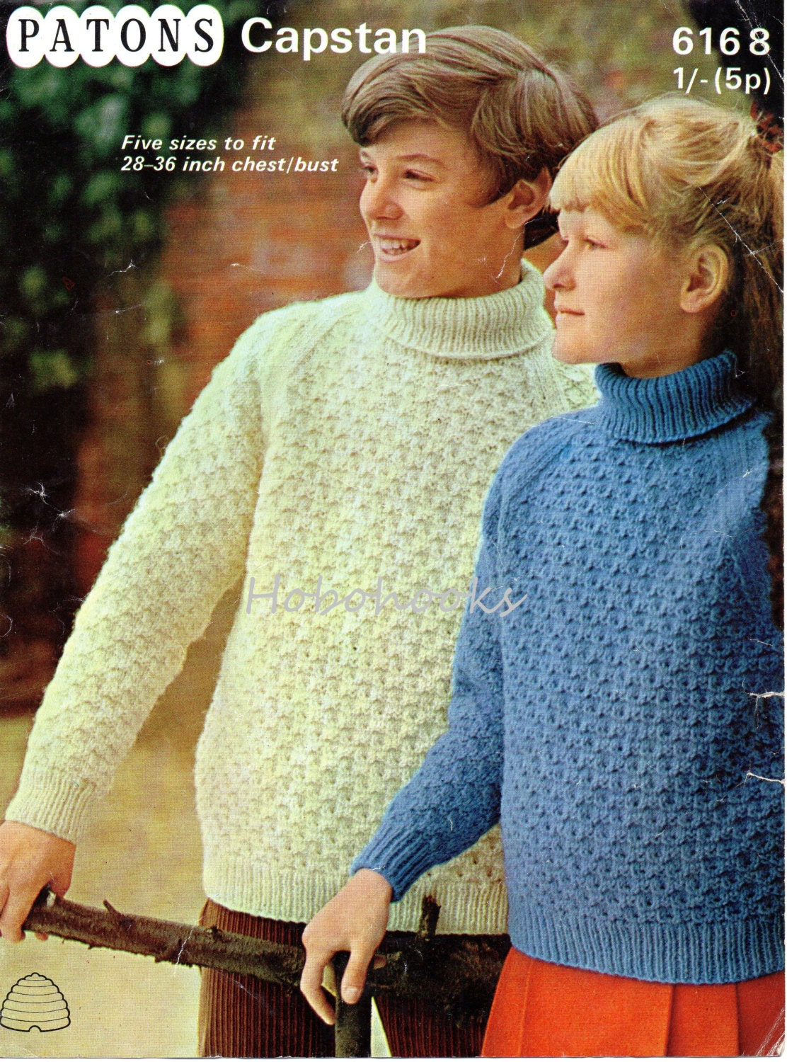 childrens polo neck sweater knitting pattern PDF polo jumper