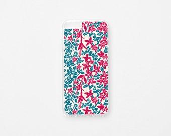 iPhone 6 Plus Case - Floral iPhone 6s Plus Case - Bosque Valdiviano - Flor de Chile Special Collection