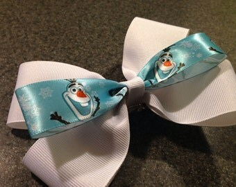 Olaf Boutique Style Hair Bow