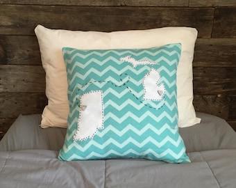 Custom Long Distance Pillow Case
