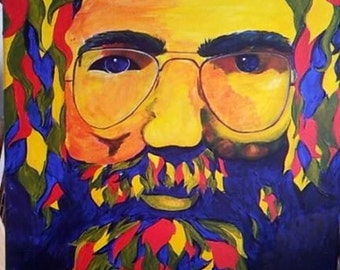 Jerry Garcia, Grateful Dead Painting
