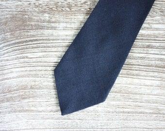 Vintage Navy Tie