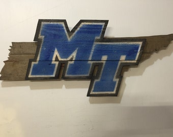Middle Tennessee pallet wall art