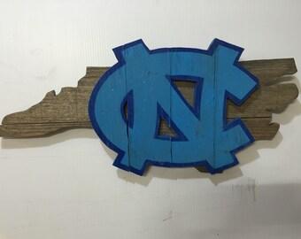 North Carolina Tar Heels Sign