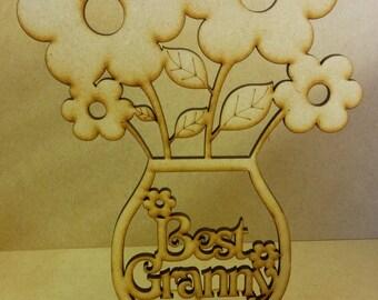 Best Granny mdf flowers