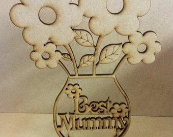 Best Mummy mdf flowers