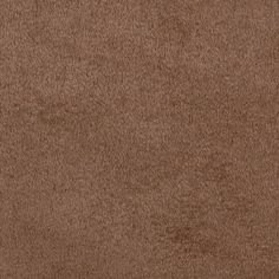 mocha polyester micro faux suede upholstery fabric by the yard. Black Bedroom Furniture Sets. Home Design Ideas