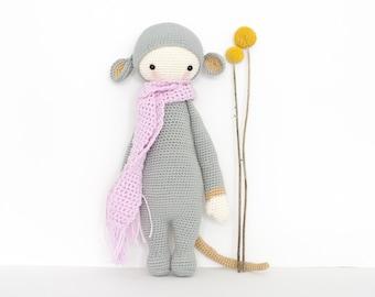 LALYLALA RADA - Amigurumi Rada the rat doll