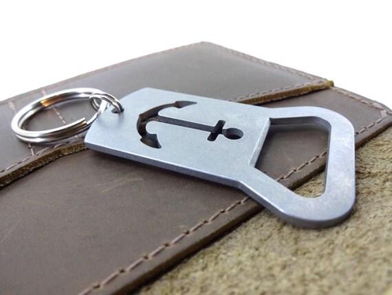 stainless steel bottle opener keychain anchor bottle opener. Black Bedroom Furniture Sets. Home Design Ideas