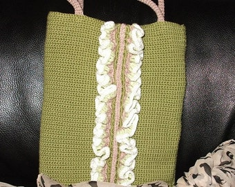Small Crochet Handbag