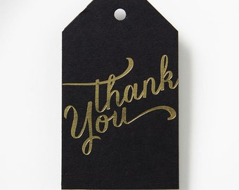 Thank You Luggage Gift Tag - set of 25 - Wedding Favor Tags, Custom Gift Tags, Bridal Shower Gift Favor Tags, Holiday Gift Tags 036-5