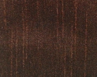 Chocolate Brown-43/120 Silk Dupioni Shantung Fabric 100% Polyester for Apparel Home Decor By the Yard