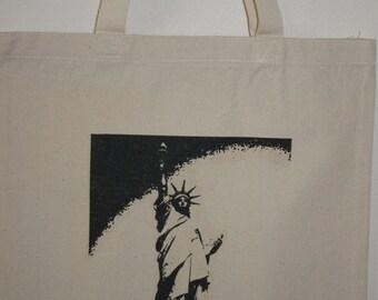 "Statue Of Liberty 15""x16"" Tote Bag"