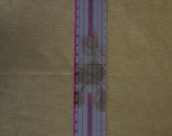 """24"""" Precision Quilting Ruler, 1/8"""" increments,right or left handed"""