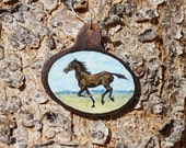 Running Horse Necklace, H...