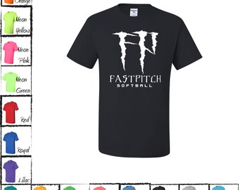 Monster Fastpitch Softball T-shirt