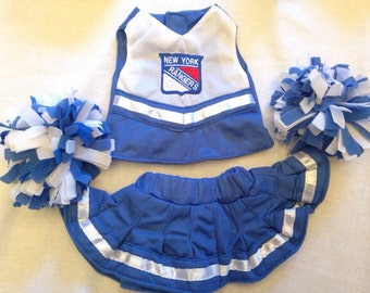 Rangers 18 inch doll cheerleader outfit