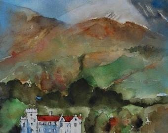 Scottish landscape - Blair Castle