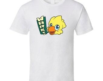 "Final Fantasy - Chocobo ""Wark!"" White T-Shirt"