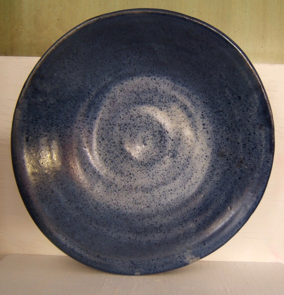 Items Similar To Stoneware Bowl Or Deep Plate Hand Thrown