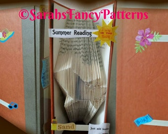 Deck Chair - Book Folding Pattern