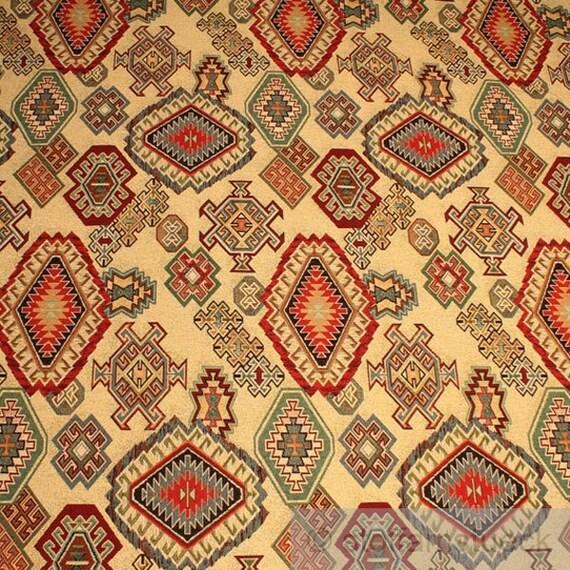 Sac en tissu coton polyester tapisserie motif indien - Motif tapisserie ...