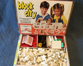 Sale!Vintage Block City with Box