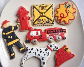 Fire Department Sugar Cookies 1 dozen