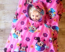 Minnie Mouse Toddler Car Seat Poncho