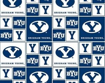 1 Yard BYU Fabric -F069-BYU-020