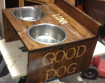 Personalization for the Side of the Dog Feeder