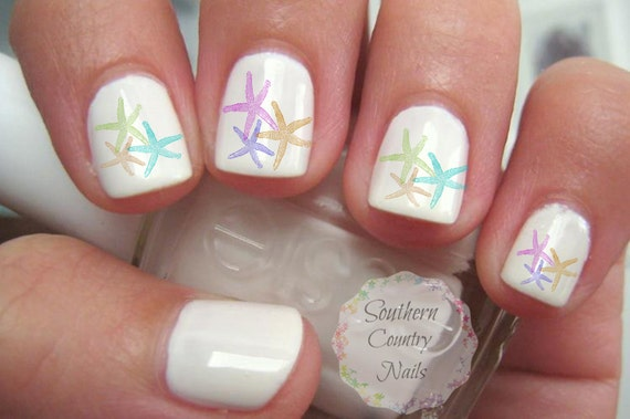 Starfish Nail Art Decals